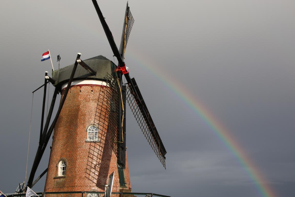"Cadzand Windmühle ""Het Nooitgedacht"""