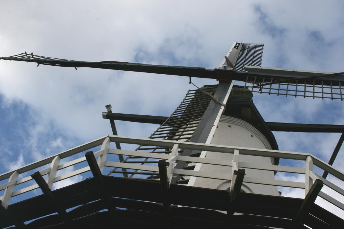 "Windmühle ""De Witte Juffer"" IJzendijke"