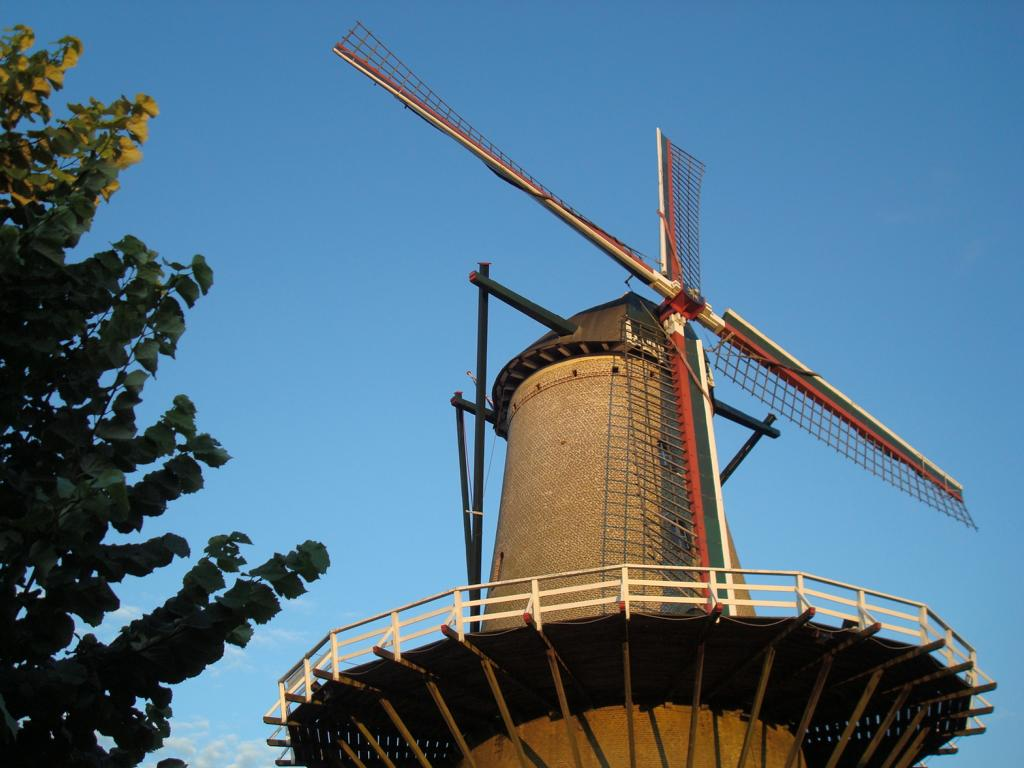 Windmühle in Sluis