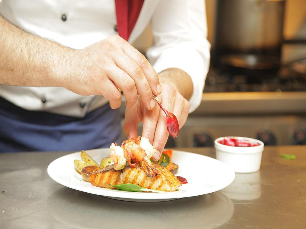 Köstliche Küsten-Küche Cadzand-Bad